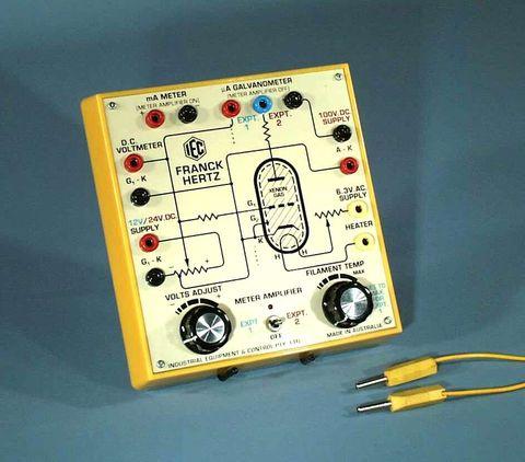 Franck Hertz experiment set uA amplifier