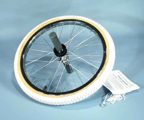 Gyroscope wheel with handles cord & grip