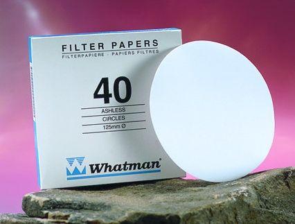 Whatman Filter Paper No.40 125mm 8um
