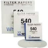 Whatman Filter Paper No.540 125mm 8um