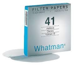 Whatman Filter Paper No.41 110mm 20um