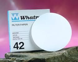Whatman Filter Paper No.42 125mm 2.5um