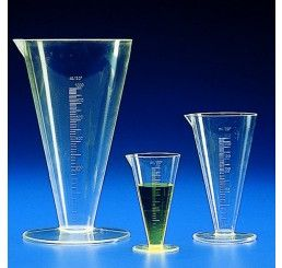 Conical measure TPX 100ml graduated