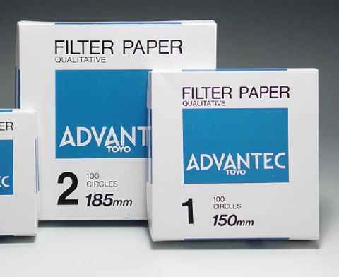 Filter paper Advantec No.2 125mm  [WSL]