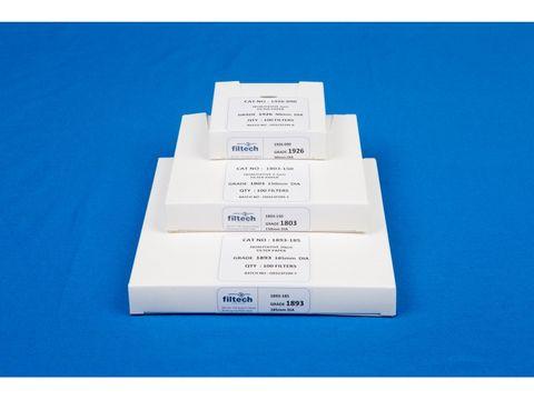 Filter paper qualitative fast 125mm