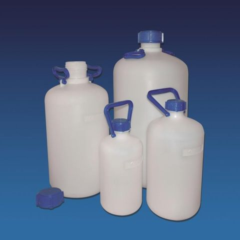 Carboy HDPE 5lt NM with cap & handles