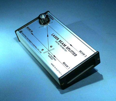 Laser kit beam splitter unit