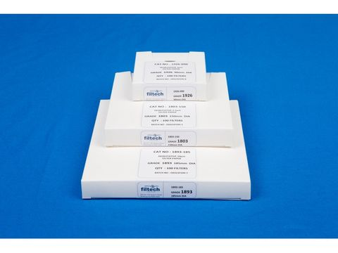 Filter paper qualitative med 125mm