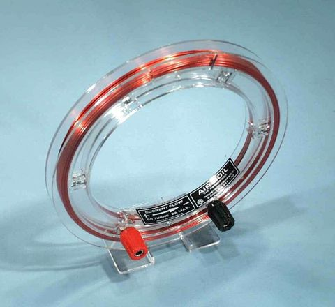 Coil air wound 150mm 50Tx2A with foot