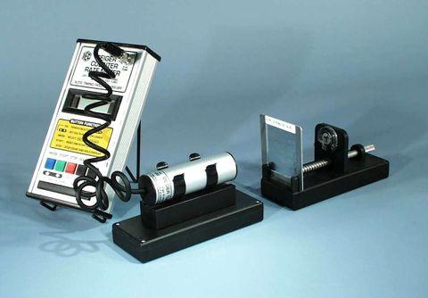 Geiger tube holder support