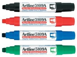 Whiteboard makers Artline 5109A assorted