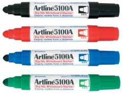 Whiteboard makers Artline 5100A red