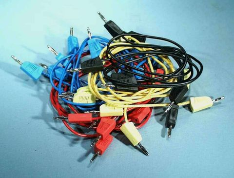 Electronics kit cables 2mm Banana