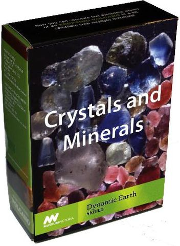 Crystals and mineral growing kit