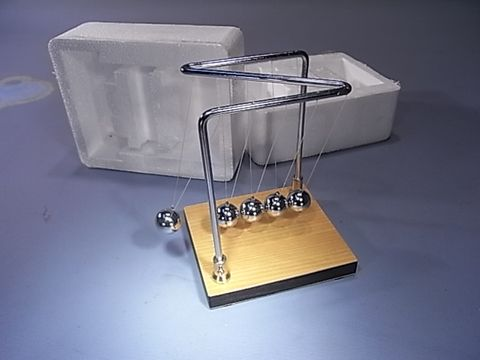 Newtons cradle - Third Law