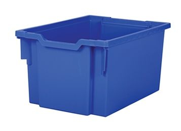 Tray storage extra deep Blue 225mm