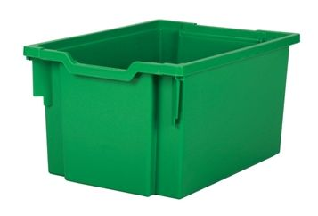 Tray storage extra deep Green 225mm