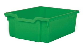 Tray storage deep Green 150mm