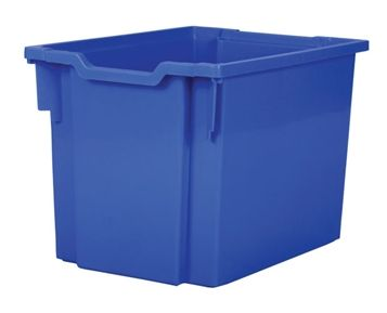 Tray storage jumbo Blue 300mm