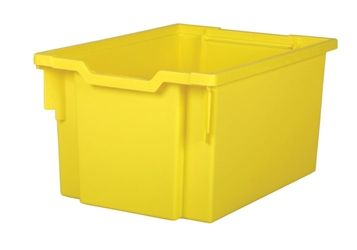 Tray storage extra deep Yellow 225mm