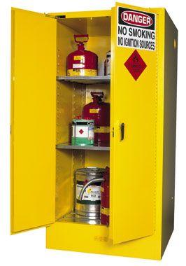 """Cabinet """"FLAMMABLE"""" 350L 2 door 12x20L"""