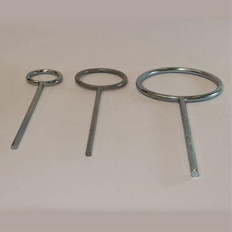 Retort ring 140mm diam
