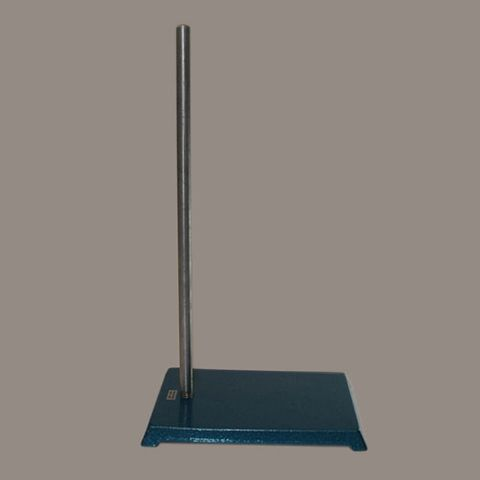 Retort stand 16x11.5cm with 50cm rod