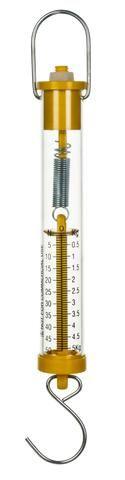 Balance spring plastic 5000g/50N Yellow