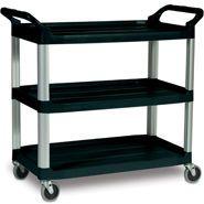 Trolley 'Rubbermaid' 3 shelf 103x47x96cm