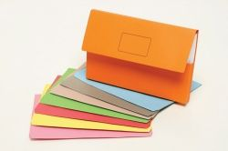 Document wallet slipick Marbig orange