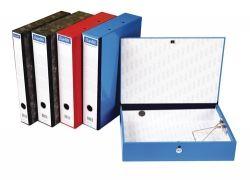 Box file Bantex foolscap Blue