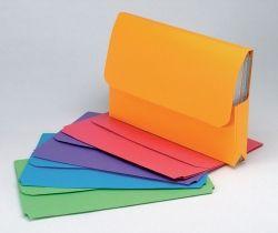 Document wallet Slimpick Marbig assorted