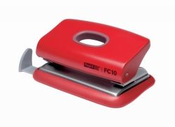 Hole punch 2 hole 10 sheets 80gsm red