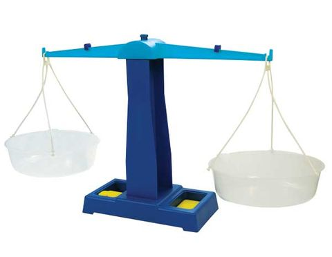 Scale pan balance plastic