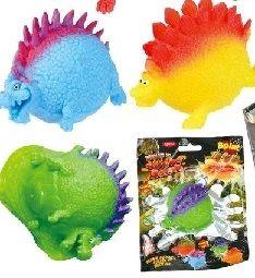Water splatter dinosaur