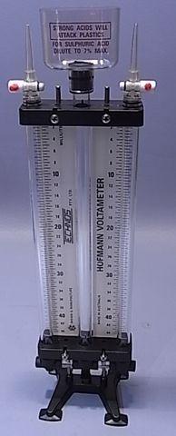 Voltameter Hoffman plastic complete