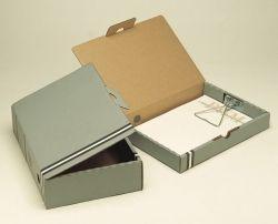 Box file Marbig A4 grey 44mm