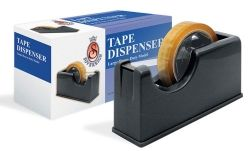 Tape dispenser large black for 66m tape