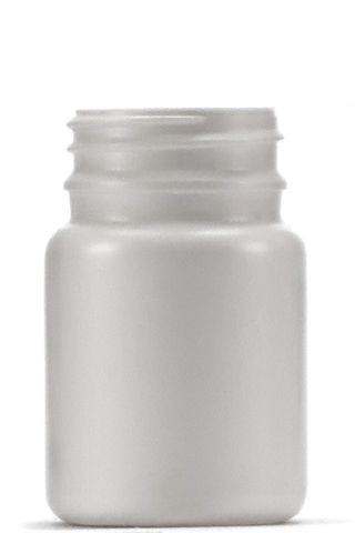 Bottle round HDPE narrow neck 60ml