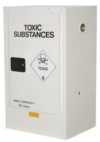 "Cabinet ""TOXIC"" 60L 1 door 2 shelves"