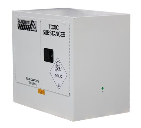 "Cabinet ""TOXIC"" 100L 2 door 2 shelves"