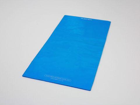 Adhesive washable work mat 33x16cm