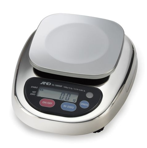 Balance electronic 1000 x 0.5g S/S body