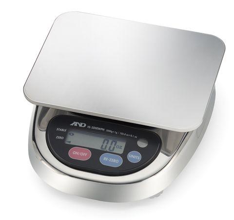 Balance electronic 3000gx1g large ss pan