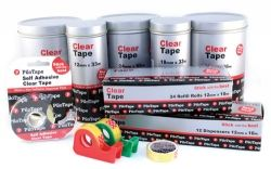 Tape clear Pilotape 18mm x 66m