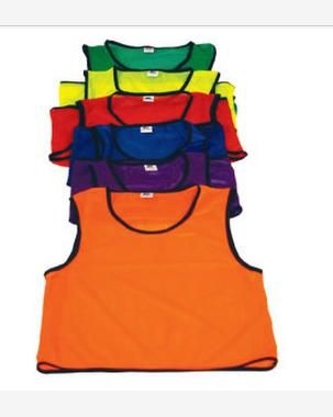 Mesh Athletic Bib/Vest Large Orange