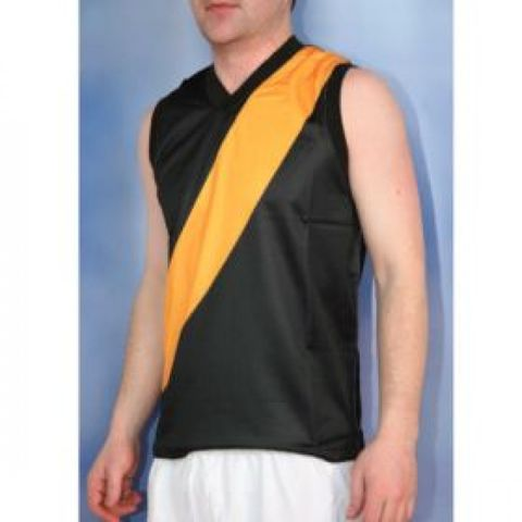 Senior Sleeveless Football Jumper