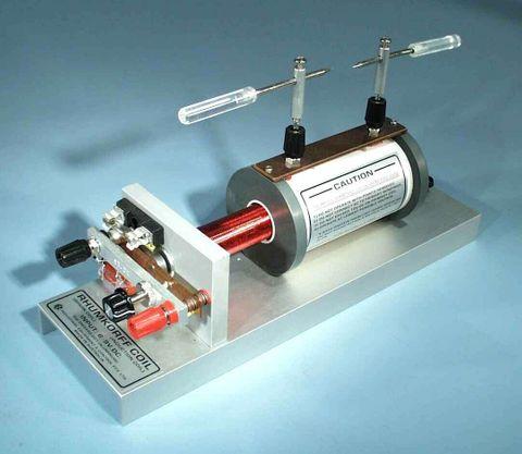 Rhumkorff coil 25mm spark 12V DC