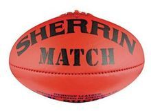 Sherrin Leather Match Ball Size 2