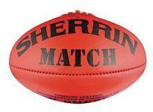 Sherrin Leather Match Ball Size 4